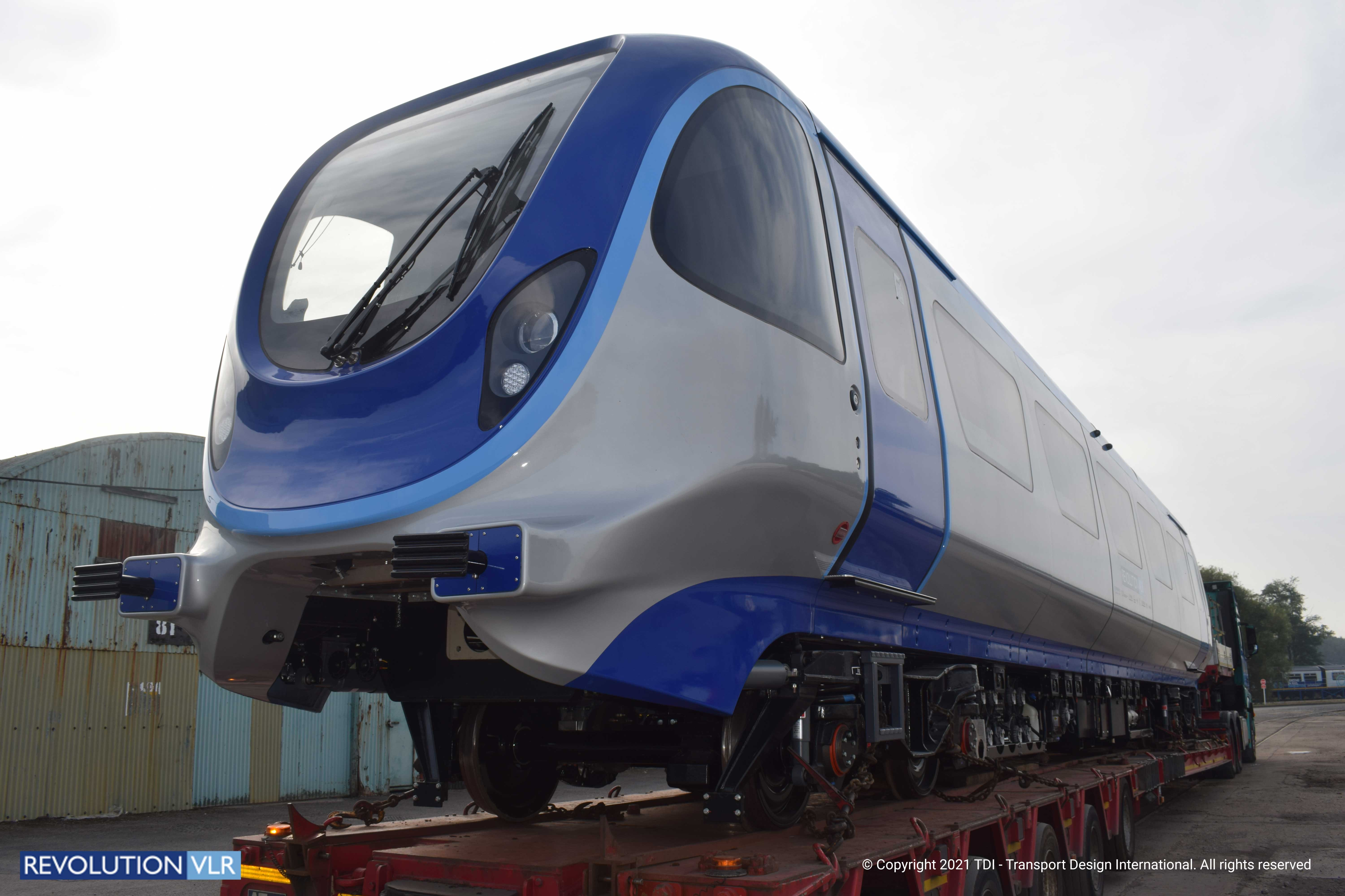 Revolution Very Light Rail Moves to its New Home
